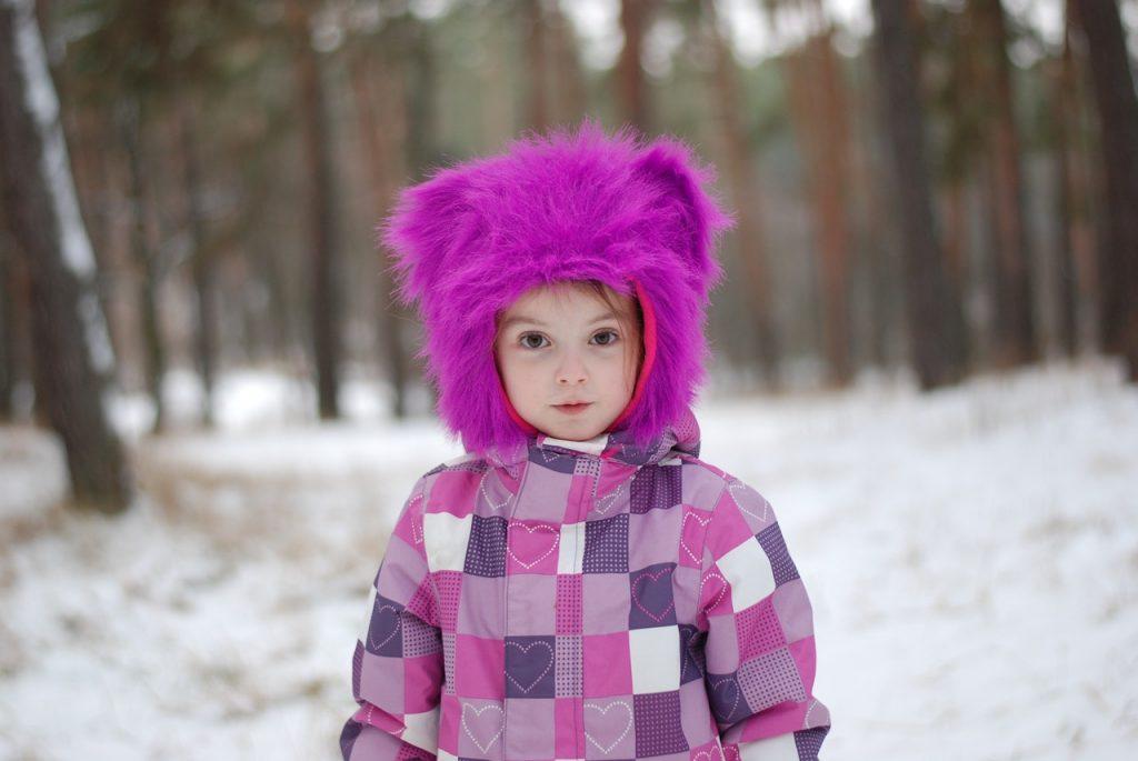 zimowe ubranie dla dziecka