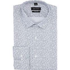 Koszula versone 5004a długi rękaw slim fit szary. Szare koszule męskie slim Recman, m, z długim rękawem. Za 149,00 zł.