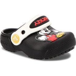 Klapki CROCS - Fun Lab Mickey Clog K 205113  Black. Różowe klapki chłopięce marki Crocs, z materiału. W wyprzedaży za 139,00 zł.