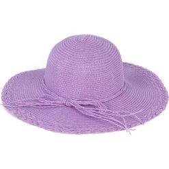 Kapelusz damski Zapleciony fioletowy (cz13020-8). Fioletowe kapelusze damskie marki Art of Polo. Za 34,62 zł.
