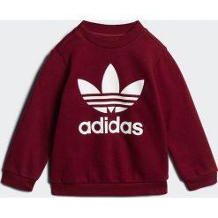 Adidas Originals CREW SET  Bluza burgundy/white. Czerwone bluzy chłopięce marki adidas Originals, z bawełny. Za 199,00 zł.