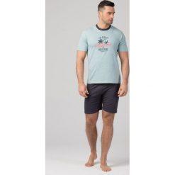 Piżamy męskie: Męska piżama RÖSSLI California Summer