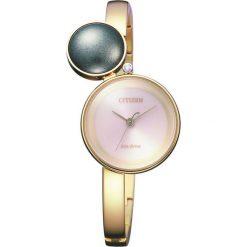 ZEGAREK CITIZEN Citizen L EW5493-51W. Czerwone, analogowe zegarki damskie CITIZEN, sztuczne. Za 2390,00 zł.