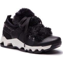 Sneakersy KAZAR - Sarina 34639-F2-00 Black. Białe sneakersy damskie marki Kazar, ze skóry, na wysokim obcasie, na szpilce. Za 549,00 zł.