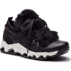 Sneakersy KAZAR - Sarina 34639-F2-00 Black. Czarne sneakersy damskie Kazar, z materiału. Za 549,00 zł.