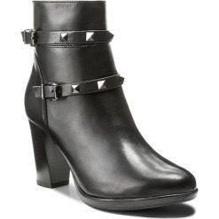 Botki LASOCKI - MORELLI-01 Czarny. Czarne buty zimowe damskie Lasocki, ze skóry. W wyprzedaży za 195,99 zł.