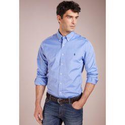 Polo Ralph Lauren NATURAL SLIM FIT Koszula blue end. Szare koszule męskie slim marki Polo Ralph Lauren, l, z bawełny, button down, z długim rękawem. Za 419,00 zł.
