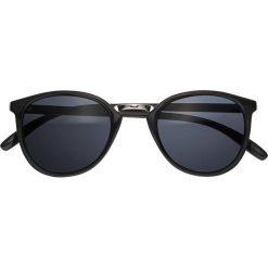 Okulary przeciwsłoneczne damskie: Okulary przeciwsłoneczne bonprix czarno-srebrny kolor