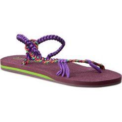 Chodaki damskie: Japonki LA MARINE - Beach IllIiade  Purple