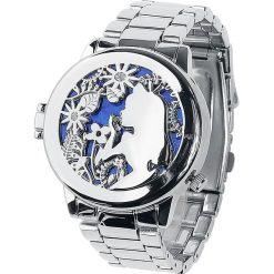 Zegarki damskie: Alicja w Krainie Czarów Alice And Cheshire Cat Zegarek na rękę srebrny
