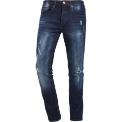 LOYALTY & FAITH TIMBER Jeans Skinny Fit raw dark indigo wash. Niebieskie rurki męskie marki Tiffosi. W wyprzedaży za 134,10 zł.