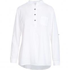 Biała Koszula Gabby. Białe koszule damskie Born2be, l, z dzianiny, eleganckie, z długim rękawem. Za 59,99 zł.