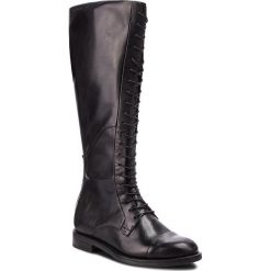 Oficerki VAGABOND - Amina 4603-101-20 Black. Czarne buty zimowe damskie marki Vagabond, z materiału, na obcasie. Za 799,00 zł.