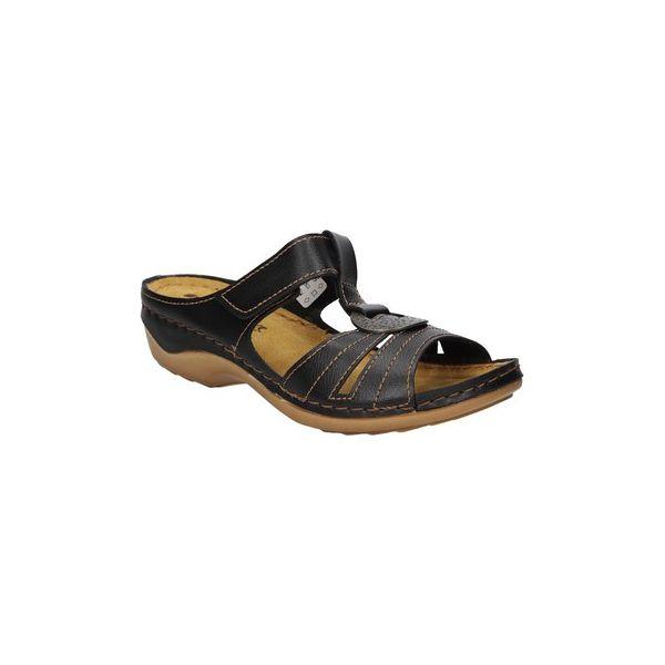 b6b0b6dca Sandały Inblu KLAPKI AU000009 - Brązowe sandały damskie Inblu. Za 78 ...