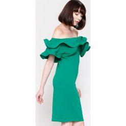 Sukienki hiszpanki: Zielona Sukienka Love Them