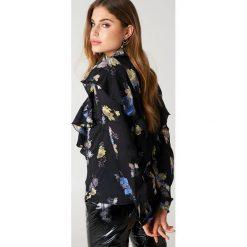 Bluzki asymetryczne: Gestuz Bluzka Aia - Black