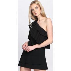 Czarna Sukienka Whatever. Czarne sukienki hiszpanki Born2be, na lato, s. Za 59,99 zł.