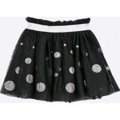 Blukids - Spódnica dziecięca 98-128 cm. Czarne minispódniczki Blukids, z materiału, rozkloszowane. W wyprzedaży za 79,90 zł.