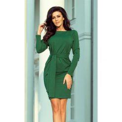 Sukienki: JENIFER Sukienka z wiązanym, szerokim paskiem -butelkowa Zieleń