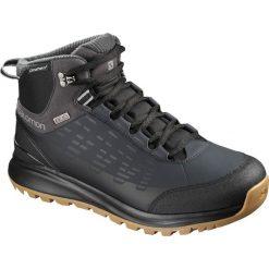 Buty trekkingowe męskie: Salomon Buty zimowe męskie Kaipo CS WP 2 Black/Phantom r. 43 1/3  (404717)