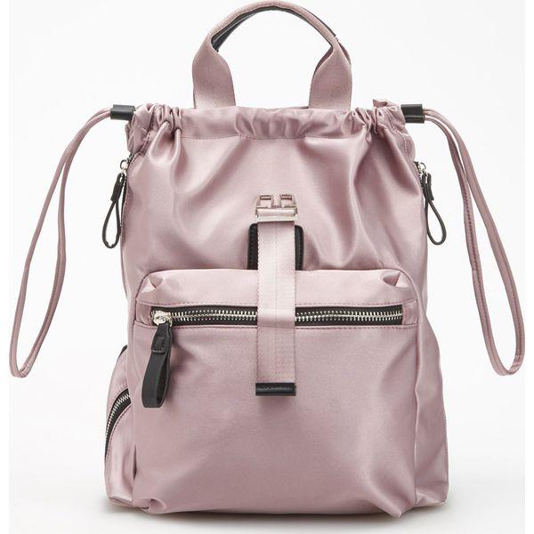 d3c8f25a145 Plecak 2 w 1 - Różowy