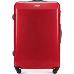 Walizka duża 56-3P-973-30. Czerwone walizki Wittchen, z gumy, duże. Za 219,00 zł.