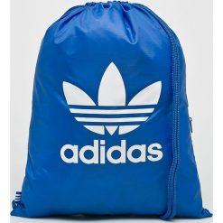 Adidas Originals - Plecak. Niebieskie plecaki męskie adidas Originals, z poliesteru. W wyprzedaży za 49,90 zł.