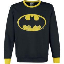 Bejsbolówki męskie: Batman Logo Bluza czarny/żółty