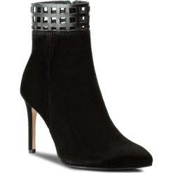 Botki EVA MINGE - Alita 2D 17SF1372276EF 801. Czarne buty zimowe damskie marki Eva Minge, ze skóry, na obcasie. W wyprzedaży za 249,00 zł.