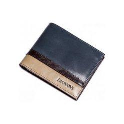 Portfele męskie: Sammons Krótki poziomy męski portfel Niebieski  (350178-06)