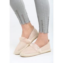 Espadryle damskie: Beżowe Espadryle Beautiful Surprise