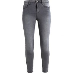 Kaffe GRACE  Jeans Skinny Fit dark grey. Szare jeansy damskie Kaffe, z bawełny. Za 249,00 zł.