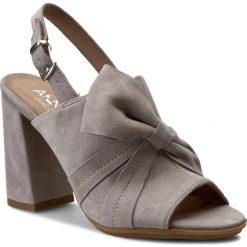 Rzymianki damskie: Sandały ANN MEX – 8026 11W Szary