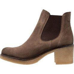 Pinto Di Blu Ankle boot taupe. Brązowe botki damskie Pinto Di Blu, z materiału. Za 369,00 zł.