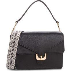 Torebka COCCINELLE - CJ5 Ambrine Soft E1 CJ5 12 01 01  Noir 001. Czarne torebki klasyczne damskie marki Coccinelle, ze skóry, duże. W wyprzedaży za 1289,00 zł.