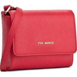 Torebka EVA MINGE - Odalis 2F 17NB1372170EF  408. Czerwone listonoszki damskie marki Eva Minge, ze skóry ekologicznej. W wyprzedaży za 199,00 zł.