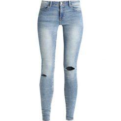 Boyfriendy damskie: JDY JDYSKINNY FLORA Jeans Skinny Fit light blue denim