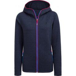 Bluza damska BLD602 - ciemny granat melanż - Outhorn. Czarne bluzy rozpinane damskie Outhorn, melanż. W wyprzedaży za 79,99 zł.