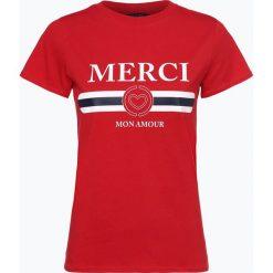 Aygill's - T-shirt damski, czerwony. Czerwone t-shirty damskie Aygill's Denim, l, z nadrukiem, z denimu. Za 69,95 zł.