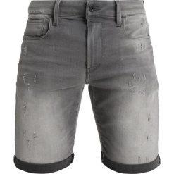 GStar 3301 SLIM 1/2 Szorty jeansowe slander grey superstretch. Szare bermudy męskie G-Star, z bawełny. Za 419,00 zł.