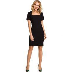 Sukienki hiszpanki: Ołówkowa sukienka przed kolano – czarna
