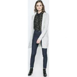 Vero Moda - Sweter. Szare kardigany damskie marki Vero Moda, l, z dzianiny. W wyprzedaży za 89,90 zł.