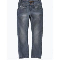 Blue Effect - Jeansy chłopięce slim fit, szary. Niebieskie chinosy chłopięce Blue Effect, z jeansu. Za 179,95 zł.