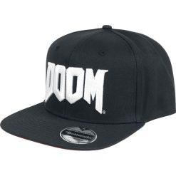 Doom Logo Czapka Snapback czarny/biały. Białe czapki z daszkiem damskie Doom. Za 99,90 zł.