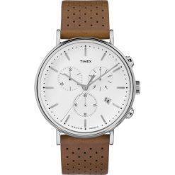 Timex - Zegarek TW2R26700. Czarne zegarki męskie marki Fossil, szklane. Za 499,90 zł.