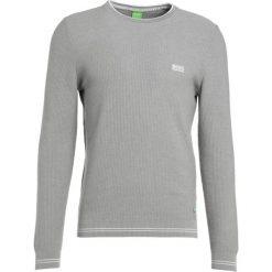 Swetry klasyczne męskie: BOSS Green ROME Sweter grey melange