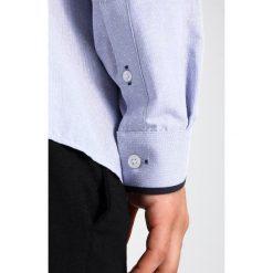 Koszule męskie na spinki: Burton Menswear London DOBBY TIPPED Koszula blue