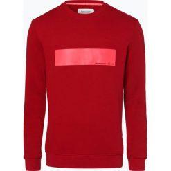 Marc O'Polo Denim - Męska bluza nierozpinana, różowy. Czerwone bejsbolówki męskie Marc O'Polo DENIM, l, z aplikacjami, z denimu. Za 349,95 zł.