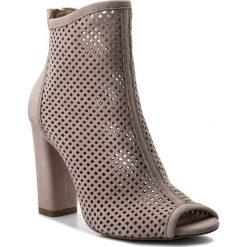 Botki R.POLAŃSKI - 0920 Różowy Zamsz. Czerwone buty zimowe damskie R.Polański, ze skóry, na obcasie. W wyprzedaży za 249,00 zł.