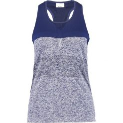 ASICS Koszulka sportowa indigo blue. Niebieskie topy sportowe damskie Asics, xs, z elastanu. W wyprzedaży za 126,75 zł.